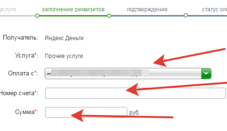 пополнение через сбербанк онлайн 1