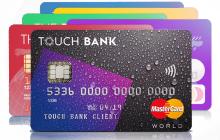 Обзор дебетовой и кредитной карты Touch Bank