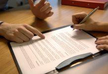подписание кредитного договора