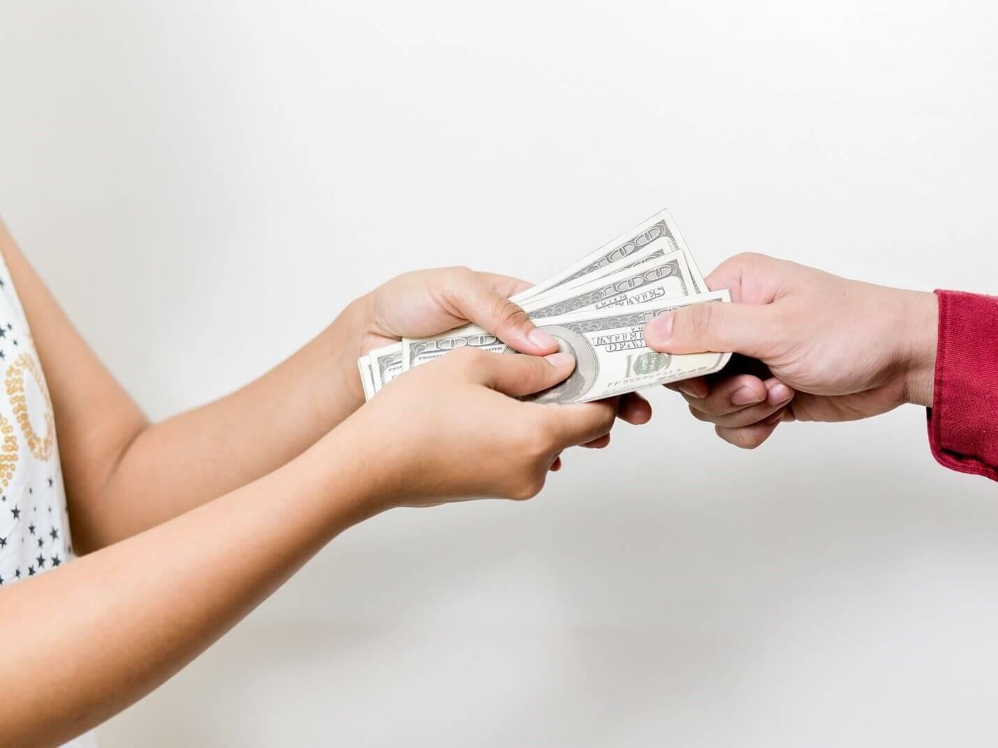 Перевод денег физическому лицу от юридического налогообложение